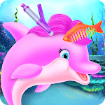 Cute Dolphin Caring and Dressup APK