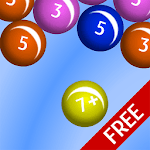 Bubble Pop Number Bonds Free APK icon