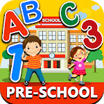 Preschool Learning ! Kids ABC, Number, Color games APK icon