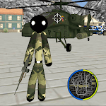 US Army Stickman Rope Hero counter terrorist APK icon