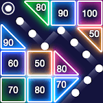 Bricks Breaker - Glow Balls APK