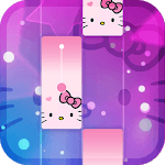 Magic Cat Piano Tiles - Crazy Tiles Kitty Sound APK icon
