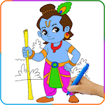 Lord Krishna Paint and Colors APK icon