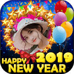 Happy New Year Photo Frame 2019 New Year Wishes 🎉 APK icon
