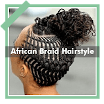500+ Top African Braids Hairstyles Fashion Offline APK icon