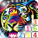 Free Glitter color by number APK