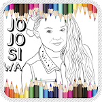 Jojo Siwa Coloring Book APK icon