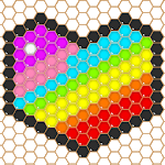 Mosaic Puzzles Art Game - Block Beads & Hex Puzzle APK icon