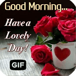 Morning Images Wishes Love Gif APK icon