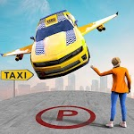 Real Flying Car Taxi Simulator APK icon