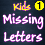 Missing Letters for Kids APK icon