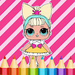 Dolls Coloring Book APK icon