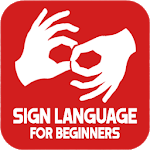 Sign Language For Beginners APK icon