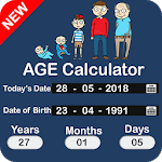 Age Calculator by Date of Birth: Birthday Reminder APK icon