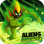 Aliens Arena: Mega Alien War Transform APK icon