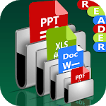 All Documents Reader: PDF PPT Word 2019 APK icon