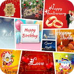 All Greetings Card Maker APK icon