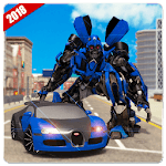 Car Robot Transformation 18: Robot Horse Games APK icon
