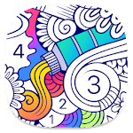 BATIQ 🎨 Color Therapy | Coloring book for Adults APK icon
