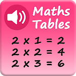 Maths Tables - Voice Guide - Speaking APK icon