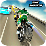 Bike Shooter Superhero: Moto Blitz Racing Shooter APK icon