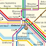 Metro Map: Paris (Offline) APK icon
