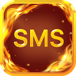 Fire Messenger for SMS - Default SMS&Phone handler APK icon