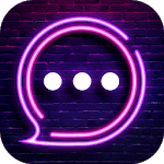 Neon Messenger for SMS - Default SMS&Phone handler APK icon