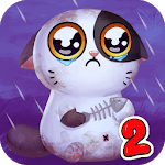 My Cat Mimitos 2 – Virtual pet with Minigames APK icon