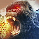 Angry Gorilla Rampage : Mad King Kong City Smasher APK icon