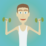 Muscle clicker: Gym game APK icon