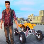 Gangster City Grand ATV Bike Crime - Quad Driving APK icon