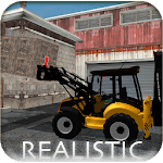 Backhoe Loader Factory Game APK icon