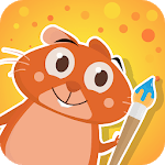 Hamster Bob - drawing for kids APK icon