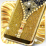 Gold lock screen APK