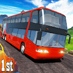 Real City Coach Offroad Bus 2019 Driving Simulator APK icon