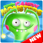 Candy Monsters - Pop The Fruit Candy Juice Crush APK icon
