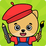 Coloring games for kids APK icon