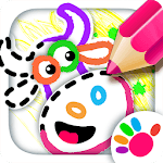 Old Macdonald had a farm 🚜 Drawing games for kids APK icon