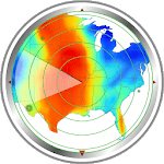 Weather radar map: waves, rain & hurricane tracker APK icon