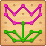 Line Puzzle: Color String Art APK