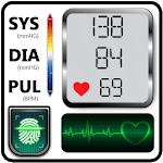 Blood Pressure Check Diary : History Log : BP Info APK icon
