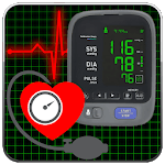 Blood Pressure Tracker : Scan Test Checker Diary APK icon