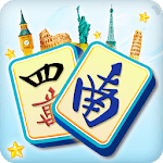 Mahjong Solitaire: Country World Tours APK icon