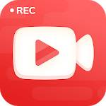Screen Recorder With Facecam & Audio, Video Editor APK icon