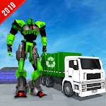 Multi Robot Transform Garbage Truck City Cleaner APK icon