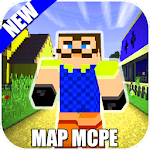 Map Of Hi Neighbor For MCPE Guides APK icon