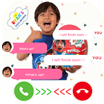 Chat With Ryan Family Review - Joke APK icon
