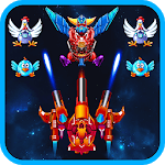 Chicken Shooter: Galaxy Attack APK icon