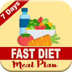 7 DAYS FAST DIET MEAL PLAN APK icon